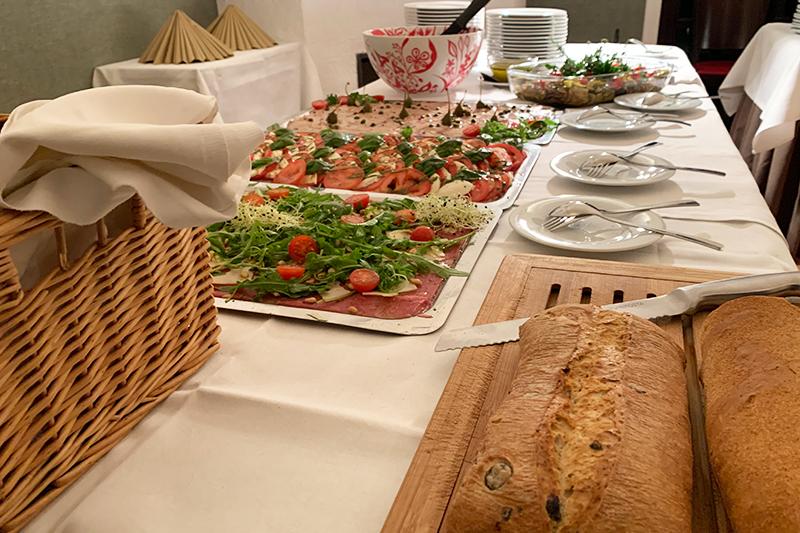 Buffet des Ristorante Cucina Castello Angelo Buckow