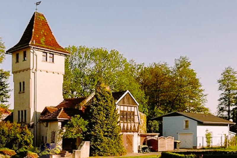 Schön gelegen - das Restaurant Cucina Castello Angelo in Buckow / Märkische Schweiz