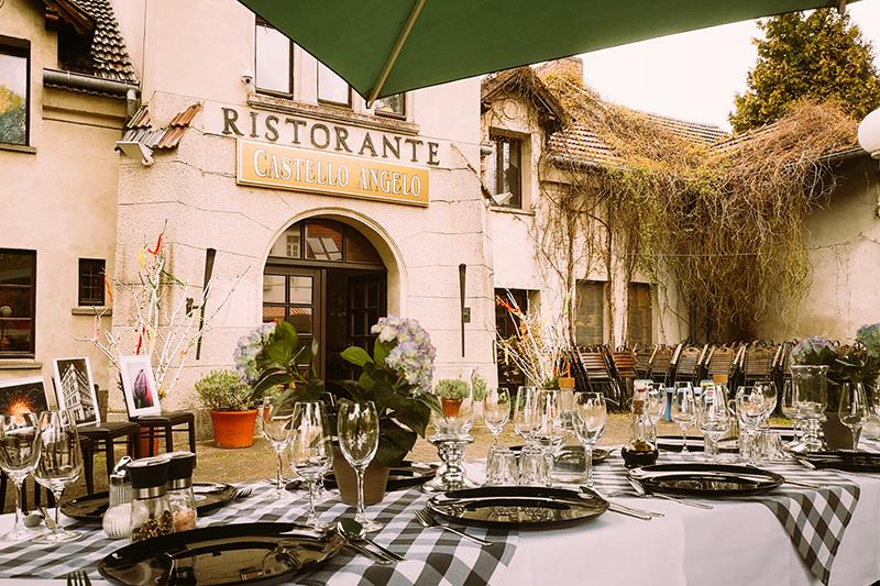 Wunderschön speisen und trinken - Ristorante Castello Angelo Buckow